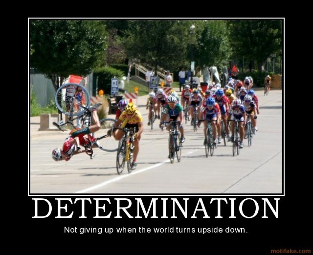 Funny Determination Quote 1 Picture Quote #1