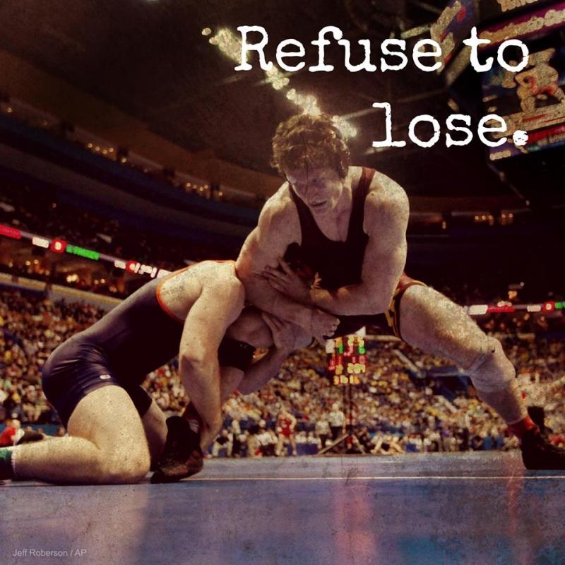 Wrestling Determination Quote 1 Picture Quote #1
