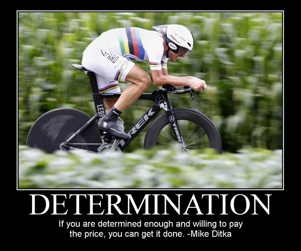 Sports Determination Quote 1 Picture Quote #1