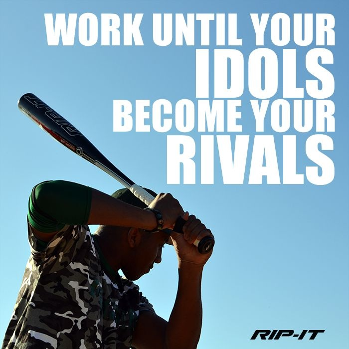 Baseball Determination Quote 1 Picture Quote #1