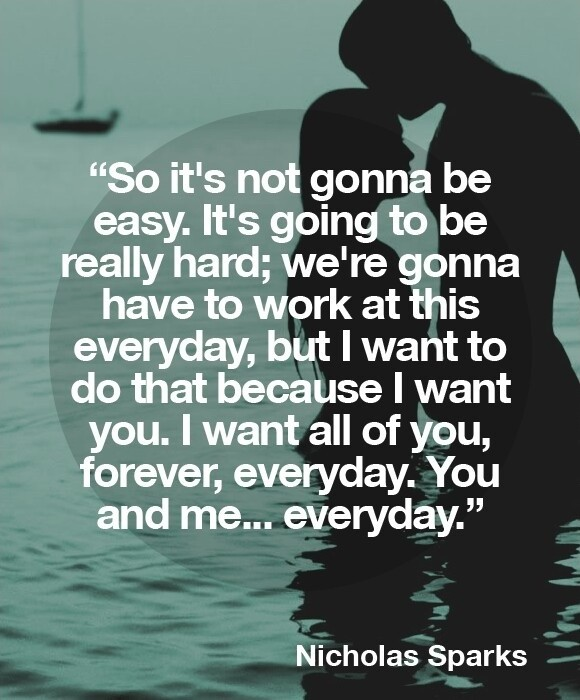 The Wedding Nicholas Sparks Quote 1 Picture Quote #1