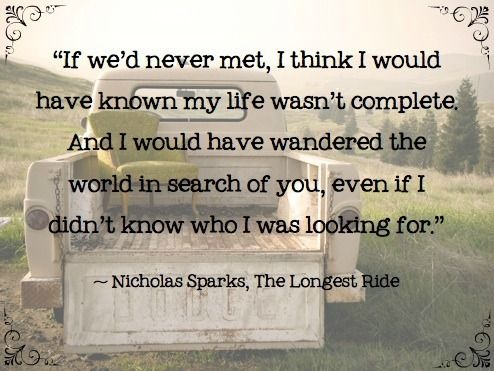 The Wedding Nicholas Sparks Quote 2 Picture Quote #1