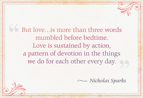 The Wedding Nicholas Sparks Quote 3 Picture Quote #1