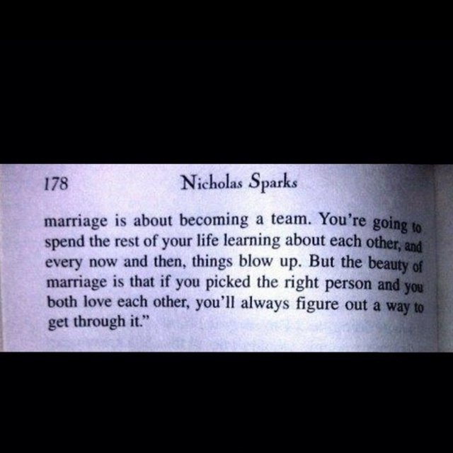 The Wedding Nicholas Sparks Quote 8 Picture Quote #1