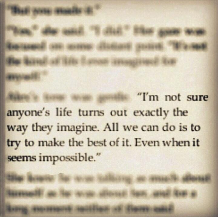 Safe Haven Nicholas Sparks Quote 1 Picture Quote #1