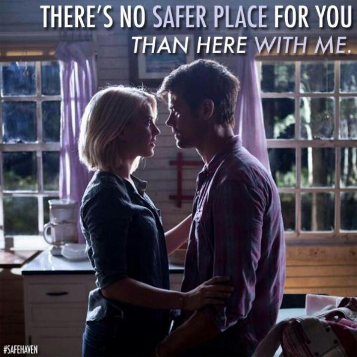 Safe Haven Nicholas Sparks Quote 2 Picture Quote #1