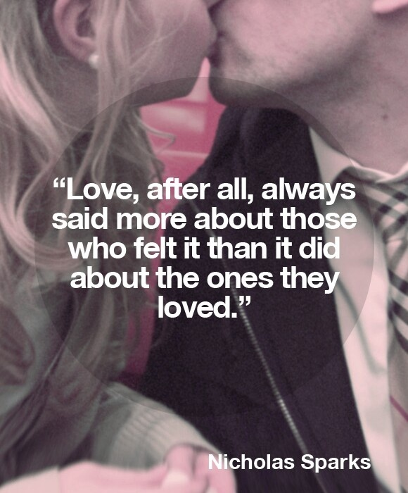 The Best Of Me Nicholas Sparks Quote 1 Picture Quote #1