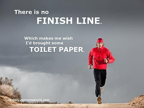 Funny Inspirational Quote For Runners 1 Picture Quote #1