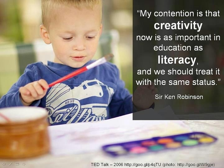 Sir Ken Robinson Creativity Quote 5 Picture Quote #1