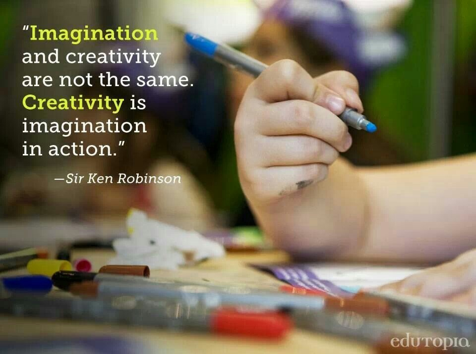 Ken Robinson On Creativity Quote 1 Picture Quote #1