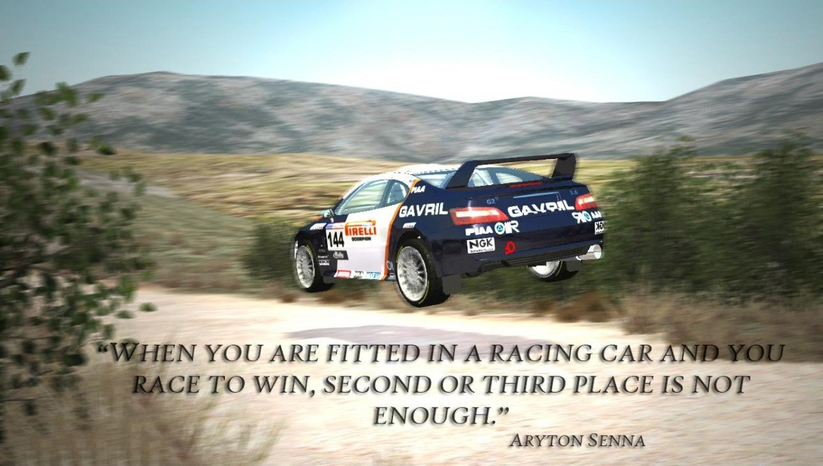 Race Car Quote 1 Picture Quote #1