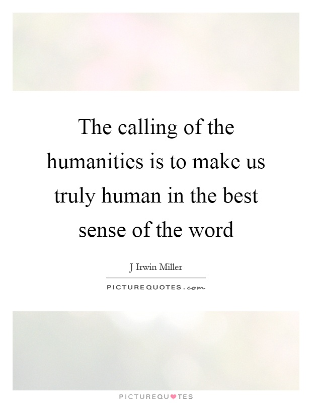 What makes truly human