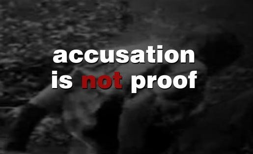 Of accused when to what cheating do falsely False Sexual