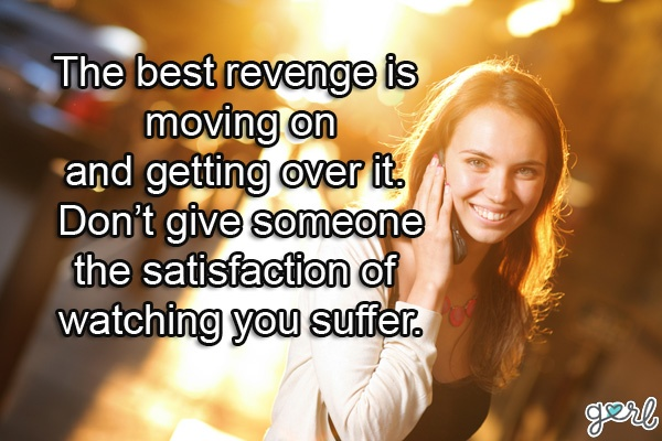 Revenge Cheating Quote 2 Picture Quote #1
