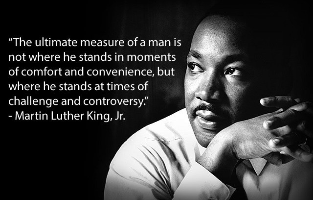 Martin Luther King Jr Quote On Leadership 1 Picture Quote #1