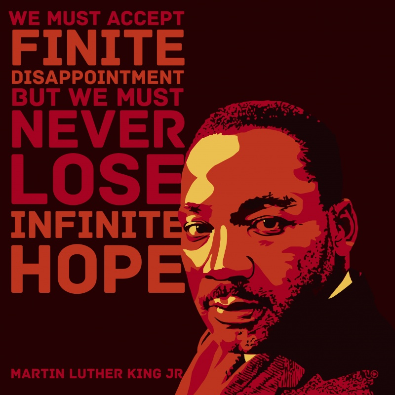 Martin Luther King Jr Quote On Hope 2 Picture Quote #1