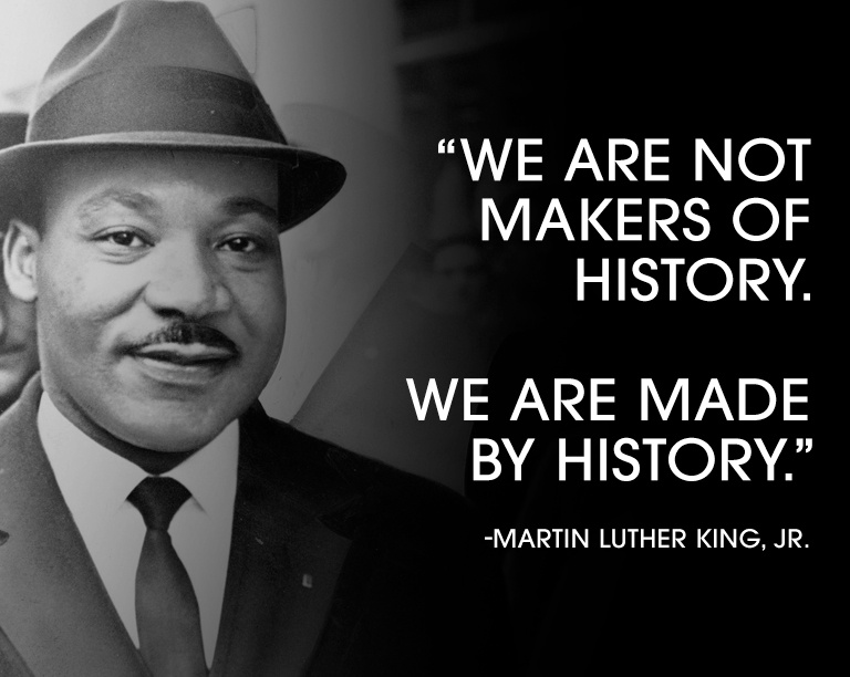 History Quote Martin Luther King Jr 1 Picture Quote #1