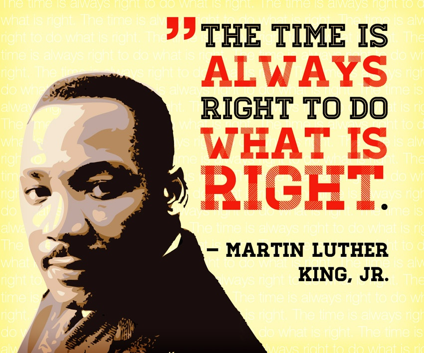 why i chose martin luther king For his tremendous efforts in working towards desegregation, king was awarded the 1964 nobel peace prize and named time magazine's man of the year in both 1963 and 1964, while posthumously receiving the presidential medal of freedom in 1977 and the congressional gold medal in 2004, having a national american holiday, martin luther.