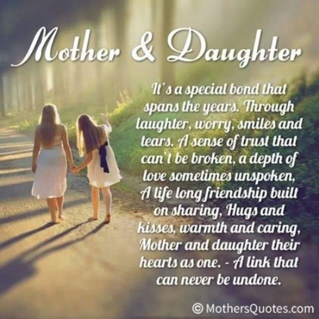 Mother Daughter Love Quote 1 Picture Quote #1