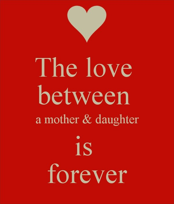 Mother Daughter Love Quote 2 Picture Quote #1