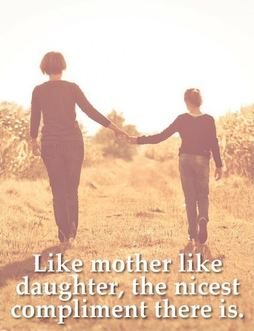 Special Mother Daughter Bond Quote 1 Picture Quote #1