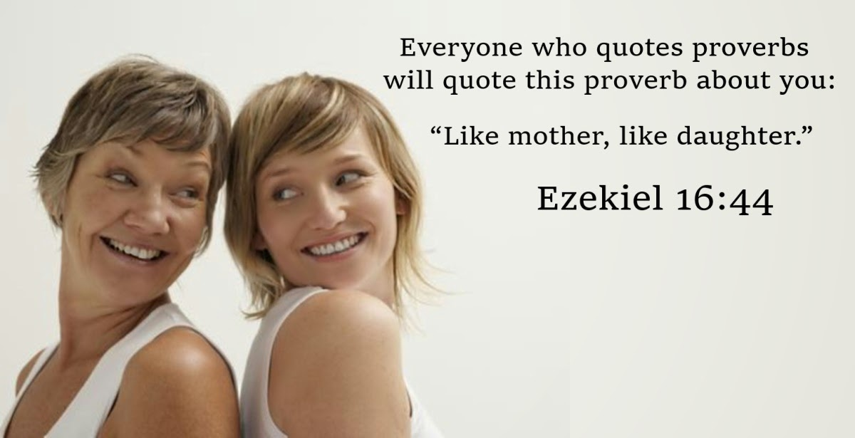 Bible Mother Daughter Quote 1 Picture Quote #1