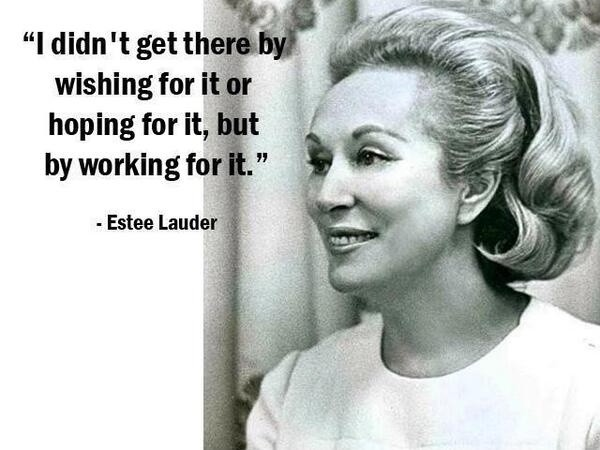 Hard Working Woman Quote 1 Picture Quote #1