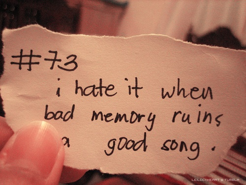 how to forget bad memories quotes