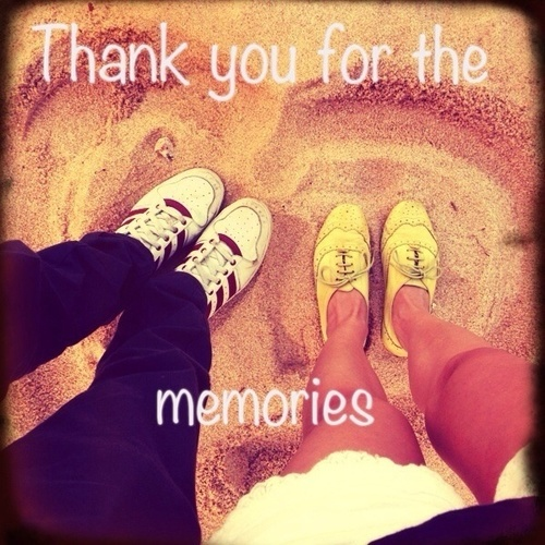 Thanks For The Memories Quote 1 Picture Quote #1