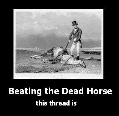 Dead Horse Quote 1 Picture Quote #1