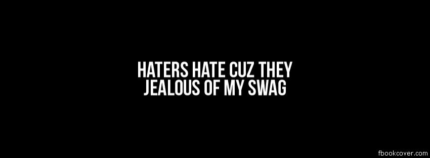 Hater Quote For Facebook 1 Picture Quote #1