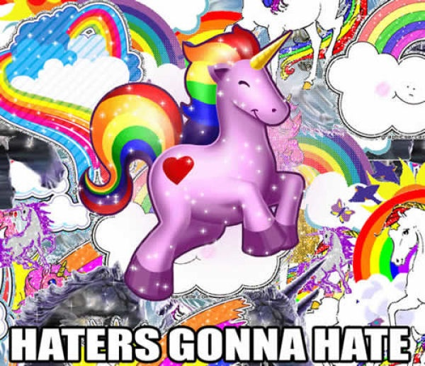 Haters Gonna Hate Quote 1 Picture Quote #1