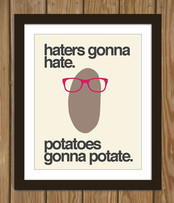 Haters Gonna Hate Quote 2 Picture Quote #1