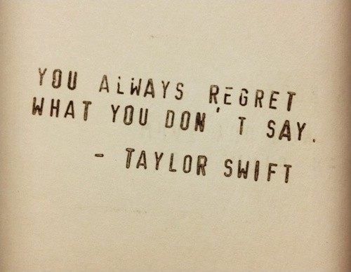 Regret Quote 6 Picture Quote #1