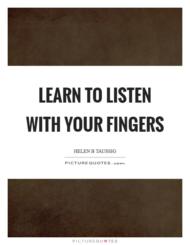 learn to listen quotes - photo #36