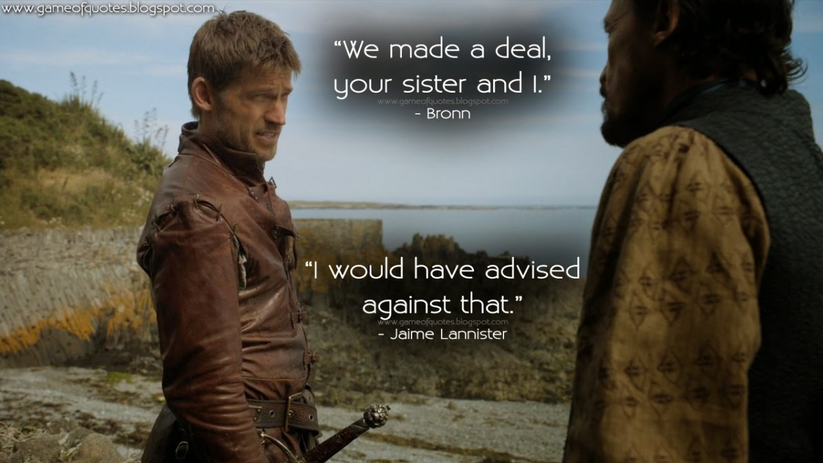 Jaime Game Of Thrones Quote 2 Picture Quote #1