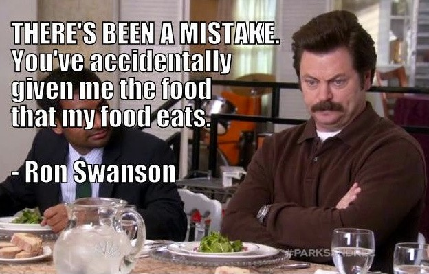 Ron Swanson Food Quote 1 Picture Quote #1