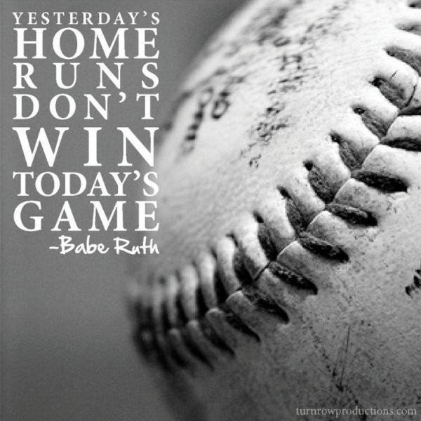 Baseball Quote Babe Ruth 1 Picture Quote #1