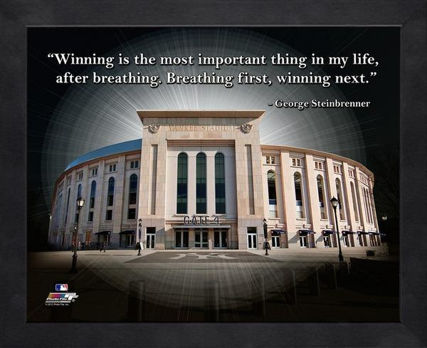 Yankees Baseball Quote 1 Picture Quote #1