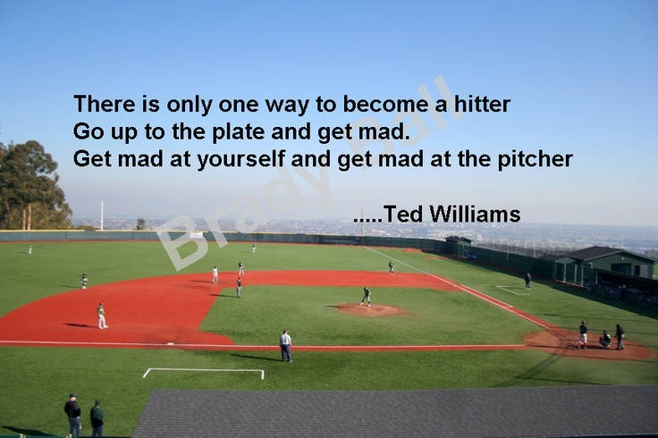 Ted Williams Baseball Quote 3 Picture Quote #1