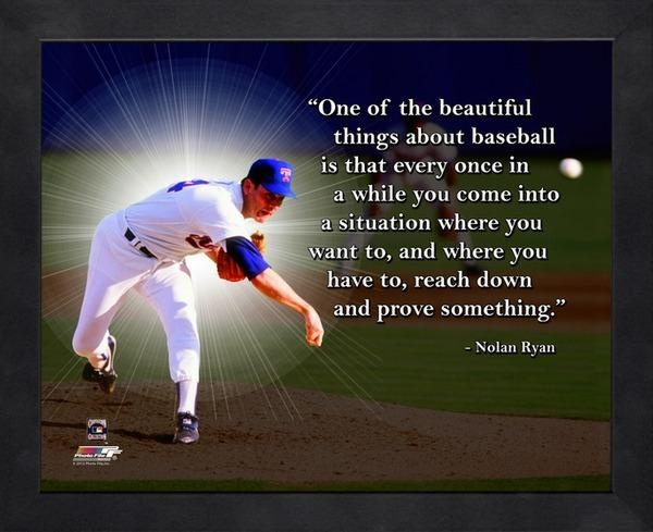 Nolan Ryan Baseball Quote 2 Picture Quote #1