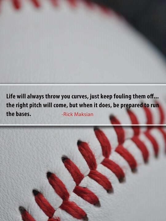 Baseball Quote 9 Picture Quote #1