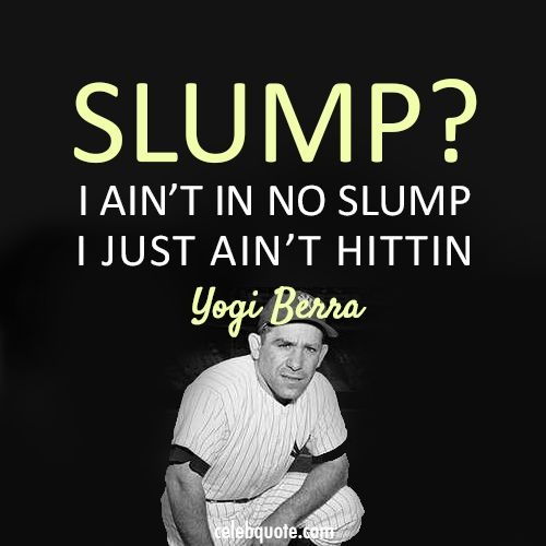 Yogi Berra Baseball Quote 1 Picture Quote #1