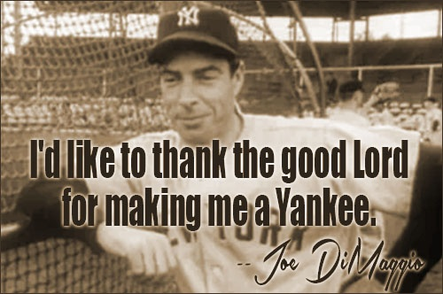 Joe Dimaggio Baseball Quote 1 Picture Quote #1