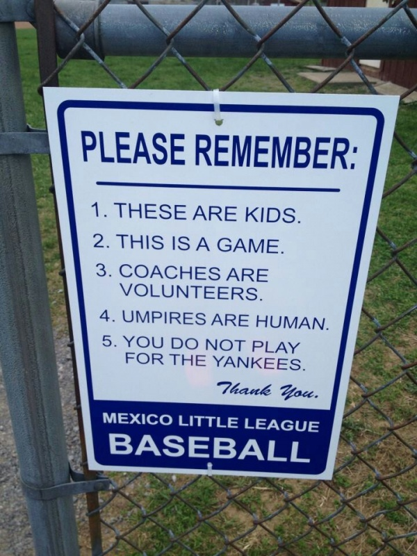 Little League Baseball Quote 1 Picture Quote #1
