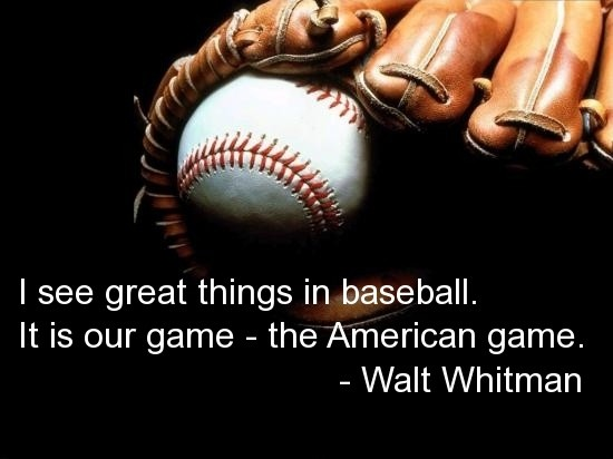 Good Baseball Quote 1 Picture Quote #1