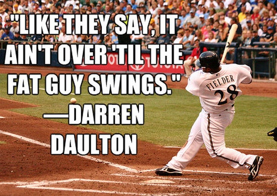 Good Baseball Quote 2 Picture Quote #1