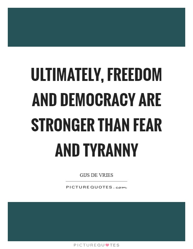 democracy and freedom Freedom house is an independent watchdog organization dedicated to the expansion of freedom and democracy around the world we analyze the challenges to freedom.
