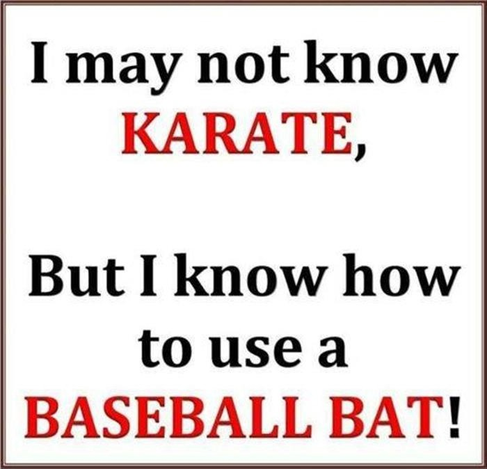 Humorous Baseball Quote 1 Picture Quote #1