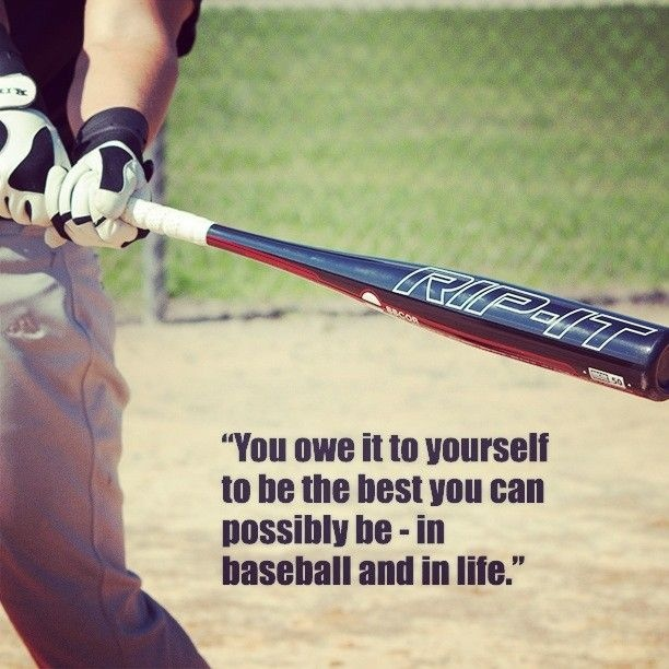 Positive Baseball Quote 1 Picture Quote #1